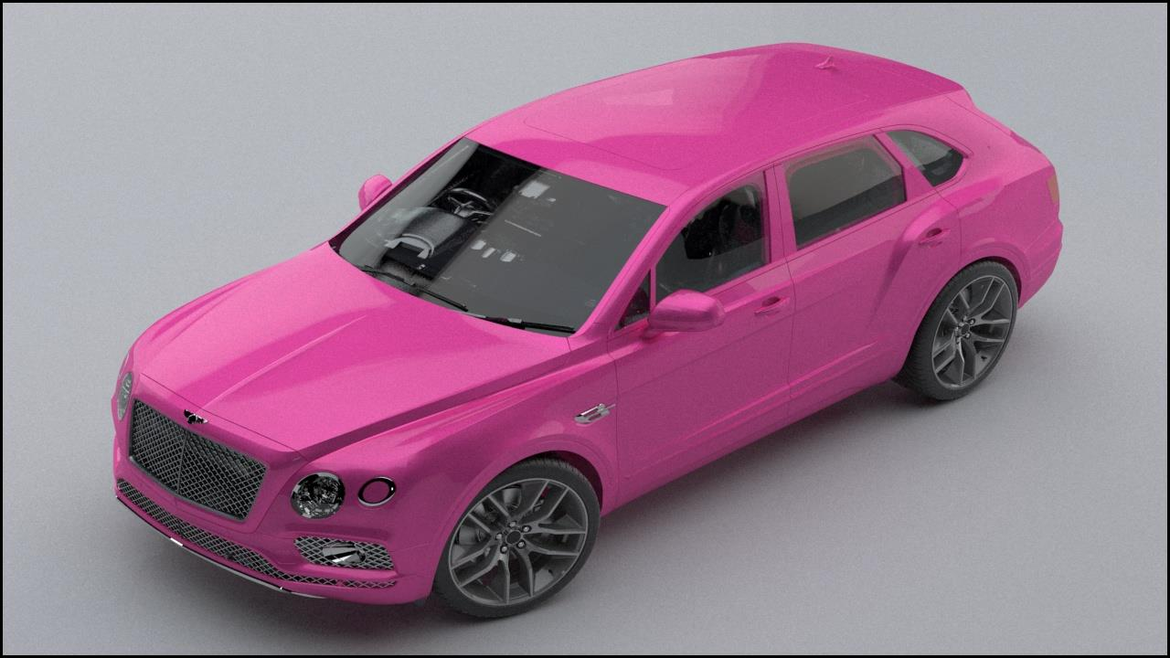 Bentley Bentayga 2016 Cgi Fans